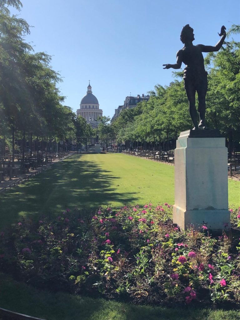 Statue-in-a-Parisian-Garden