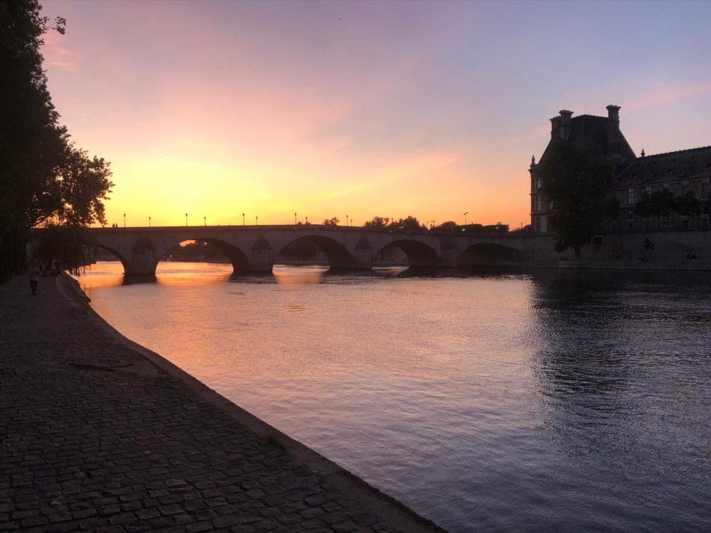 the-Seine-River-Paris-at-Sunset