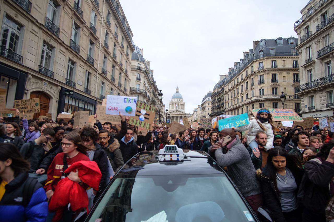 protests-march-2019-Paris-climate-change