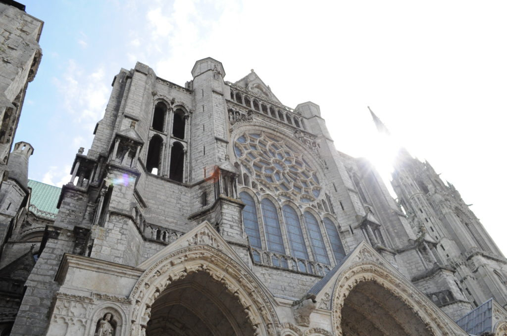 chartre-cathedral-France-French-work-permit
