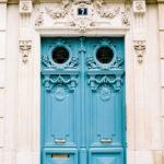 Parisian-door-French-Visa