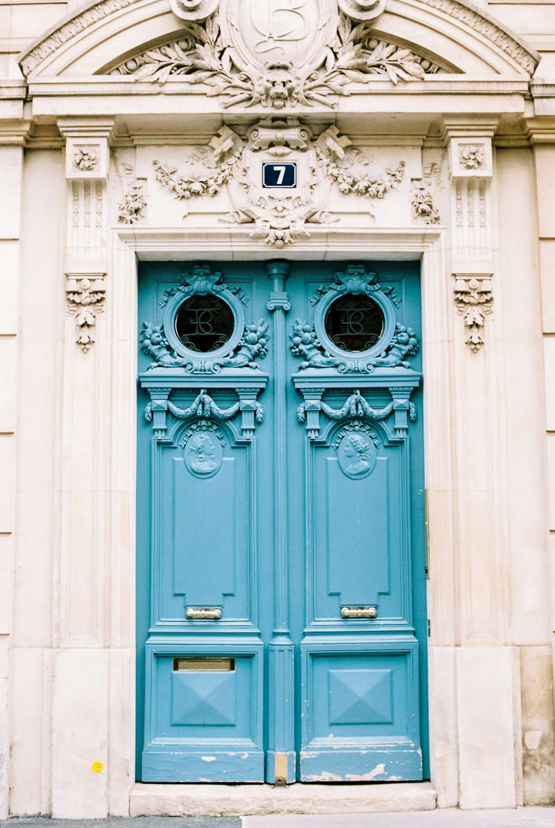 Parisian-door-French-Visa