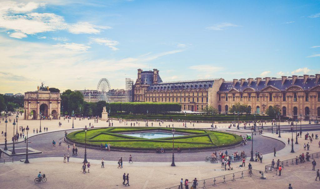 Louvre-Paris-Aerial-View