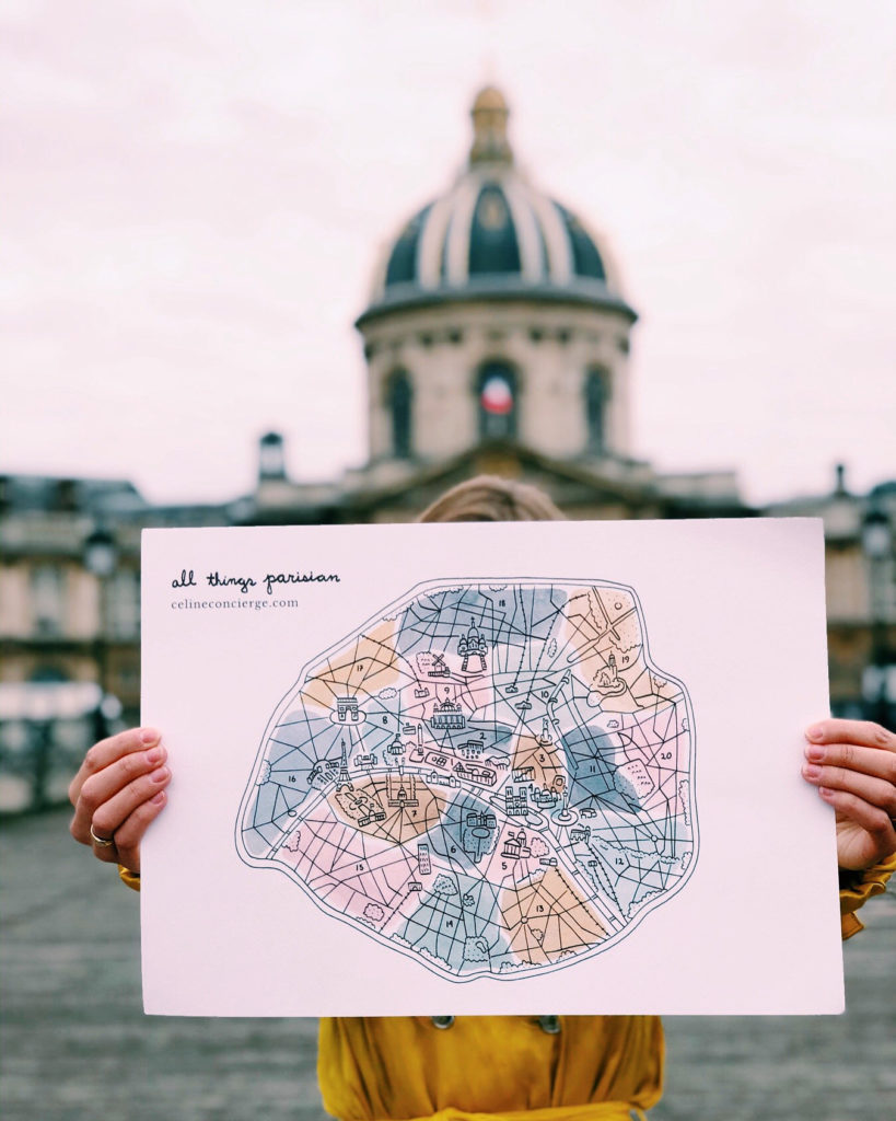 illustrated-Paris-color-print-Celine-Concierge