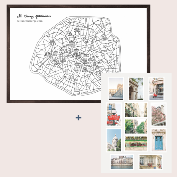 Paris-Gift-Set-Poster-Postcards
