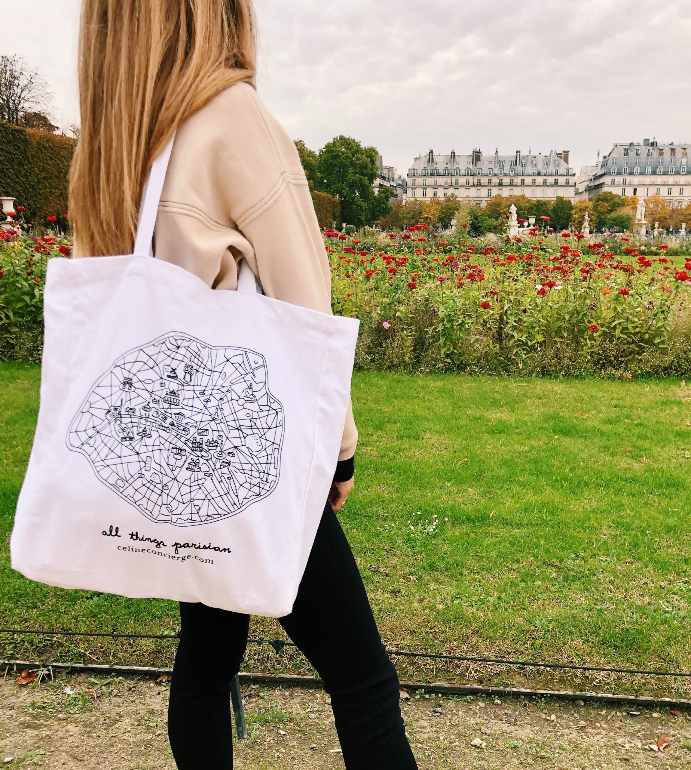 Illustrated-Tote-Bag-Celine-Concierge
